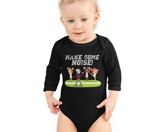 Make Some Noise for Game Day (Infant Long Sleeve Bodysuit)