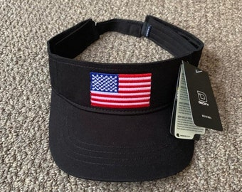 2d6240b6c5c USA America Flag Visor Handcrafted in the USA!