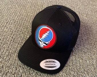 8444a2566a693 Grateful Dead Steal Your Face Trucker Mesh Hat