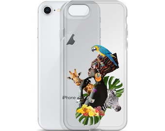 iPhone Case with Jungle Queen