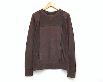 Rare Tsumori Chisato Jacket Japan Top Designer Tsumori Chisato Coated Jacket Sweater Made in Japan Avant Garde Fasion sz 2