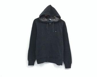 Nike hoodie sweatshirt embroidery small swoosh logo pullover   swag  sweatshirt   hip hop style   streetwear   medium size   4fdeed3659f3