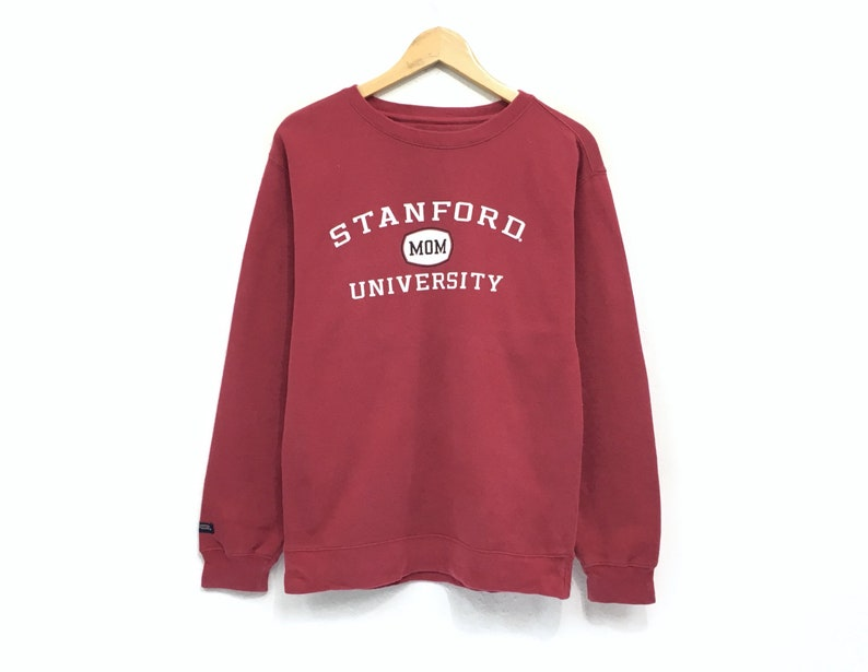 13b8a45e Stanford University Crewneck Sweatshirt Big Print Spell Out | Etsy