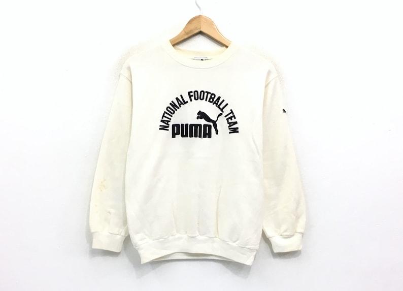 384023da6f8dc Puma Crewneck Sweatshirt Big Spell Out Logo Pullover / Fashion Sports /  Streetwear / Hype Beast / Small Size / Fashion Style