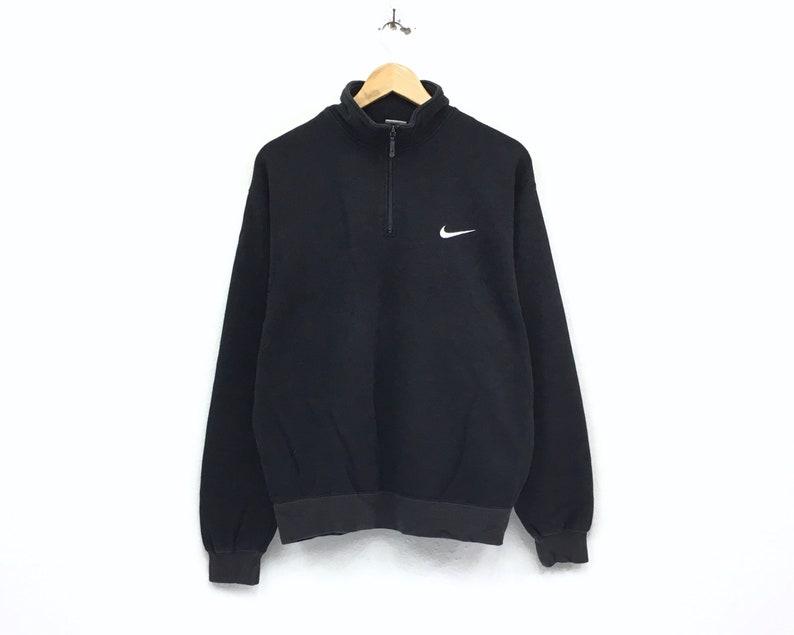 8622219ce Vintage Nike half zip sweatshirt embroidery small logo pullover / swag  sweatshirt / hip hop style / streetwear / large size / sportswear