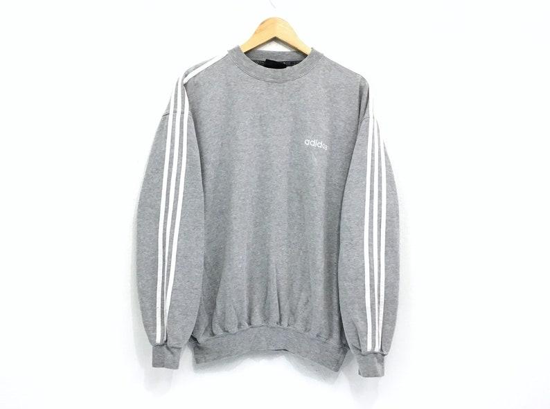 ce140e2ea3fd4 Vintage Adidas Crewneck Sweatshirt Embroidery Small Logo Pullover / Sports  Fashion / Streetwear / Urban Styles / Hip Hop / Swag Sweatshirts