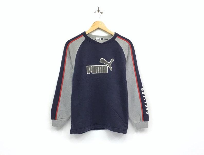 75189e5967c94 Puma crewneck sweatshirt big spell out logo pullover / fashion sports /  streetwear / hype beast / medium size / fashion style
