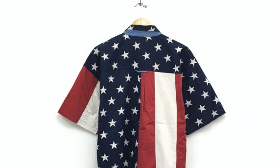 top button up polos brands shirts size style oxford overlarge flag print shirts Lauren us wear Ralph casual full fashion Chaps qEt64