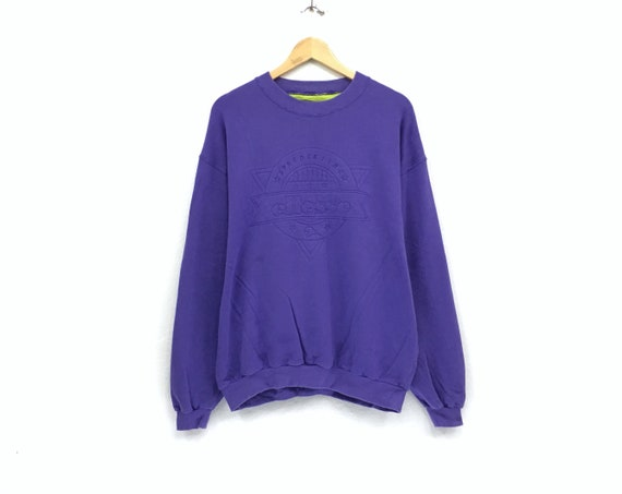 Ellesse Skiing crewneck sweatshirt big spell out l