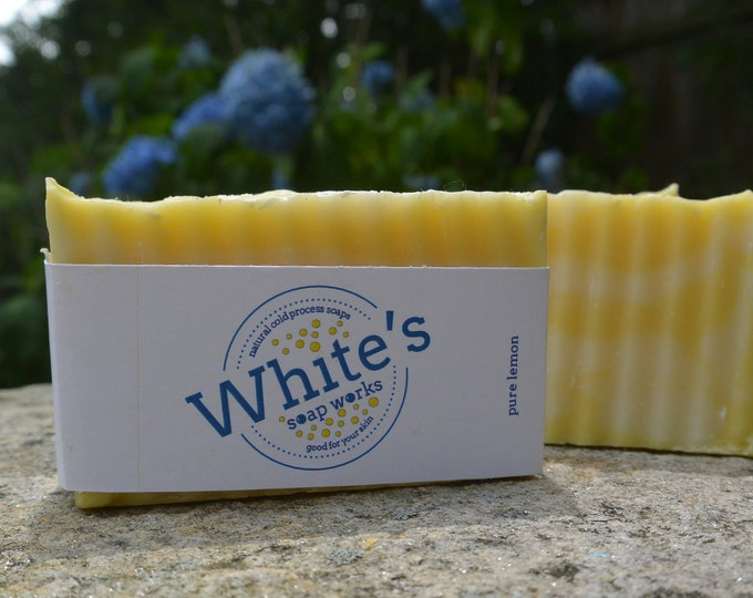 Featured listing image: Pure Lemon Soap - All Natural Essential Oils and Epsom Salt