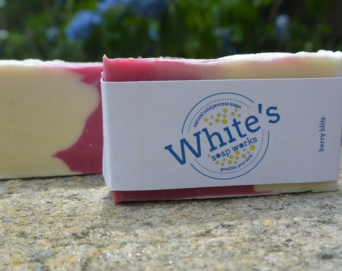 Featured listing image: Berry Blitz - Handcrafted Natural Soap