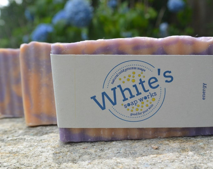 Featured listing image: Energy Cold Process Soap - Shop's Favorite