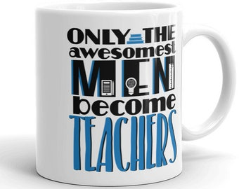 Male Teacher Coffee Mug Men Graduation Gift