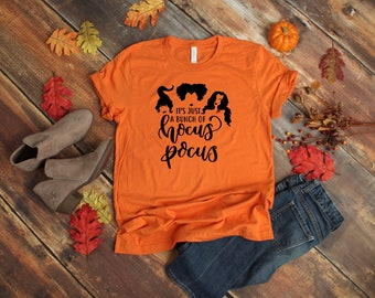 8fa15ed7 It's just a bunch of hocus pocus t-shirt, hocus pocus shirt, halloween t- shirt, fall shirt, womens shirt, women's hocus pocus shirt
