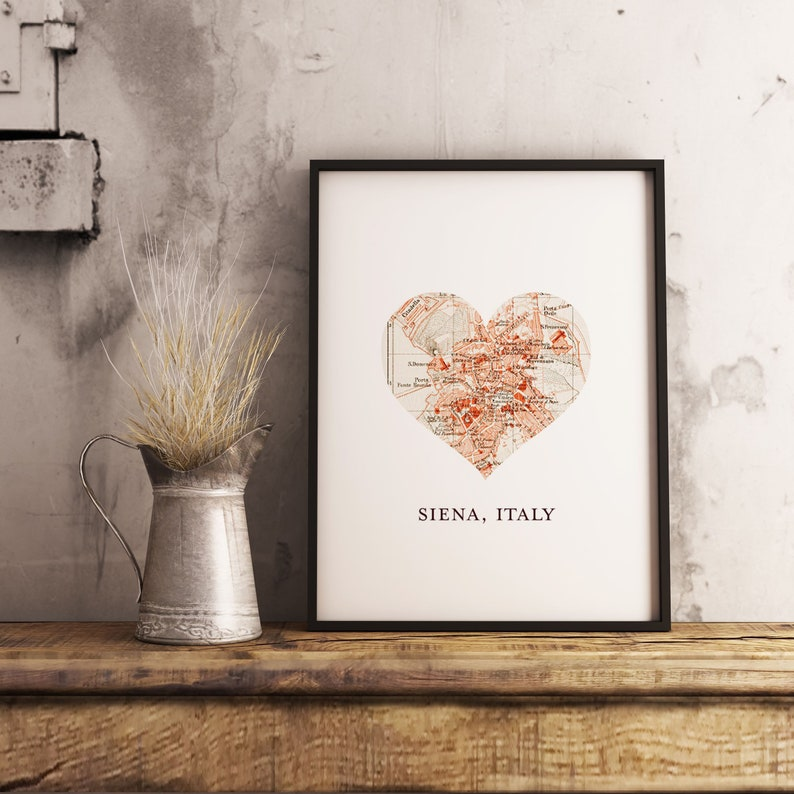 Custom Map Location Heart