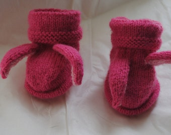 INFANT BUNNY BOOTIES