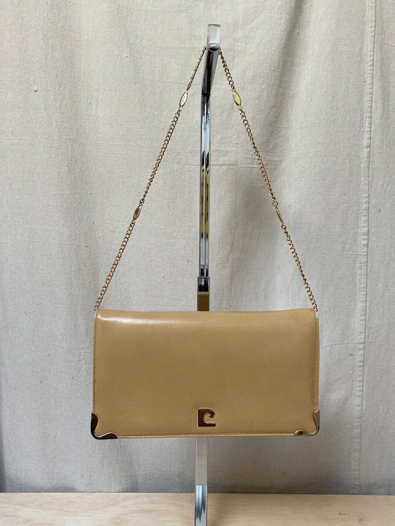 Vintage Cacharel Clutch with Gold Chain Strap