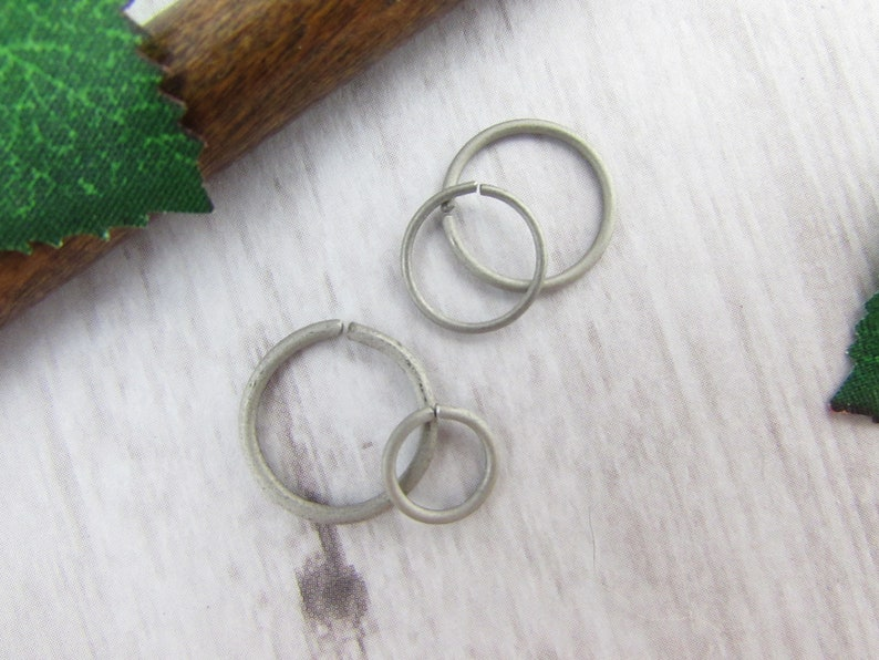 One Endless Nose Hoop-Cartilage Earring-Tragus Earring-22g Nose Ring Body Jewelry