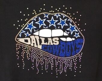 NFL Lips Custom T-Shirt