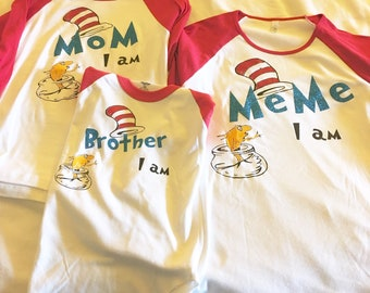 7eff844f6 Family Themed shirts (Mom I Am/Dad I Am/Brother I Am/Sister I Am) shirts