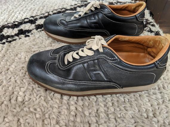 Vintage HERMES H LOGO Trainers Sneakers