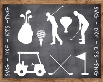 Golf Dxf Etsy
