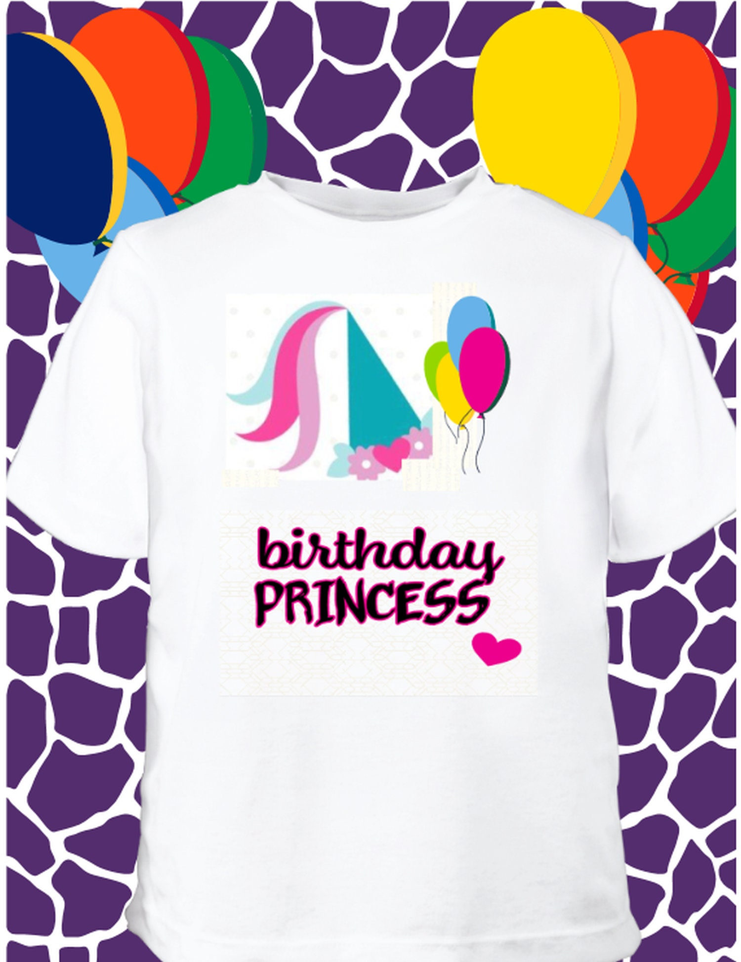 Birthday Princess Celebratory Apparel For The Little Customized T Shirt Female Toddlers