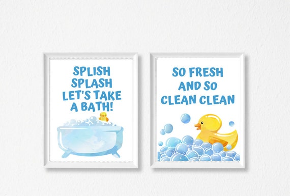 image relating to Rubber Duck Printable identify 8x10 Young children Toilet Printable Wall Artwork Mounted, Rubber Duck Wall Artwork, Rest room Decor, Instantaneous Obtain Printable Artwork