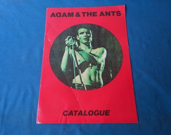 Adam & The Ants Catalogue.
