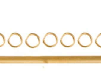 A14 1//12th scale DOLLS HOUSE METAL GOLD COLOURED EXPANDING CURTAIN RAIL KIT