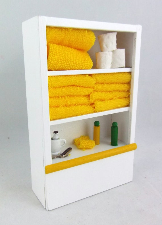 1.12th Scale Bathroom Cleaning Accessories Dolls House Miniature Kitchen
