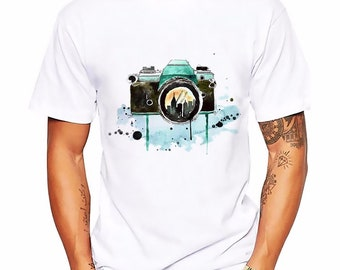 7a538652 Camera Patent Tshirt | Cool Photography T-Shirt | Photographer Art |  Perfect Gift | Adults and Teenagers Men's T shirt | FREE SHIPPING!