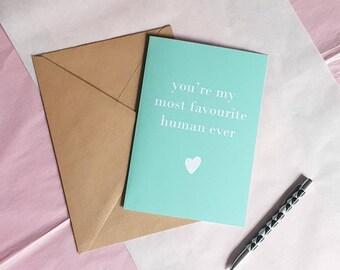 #89 Blank Greeting Card Congrats on the Fun Size Mini-Human