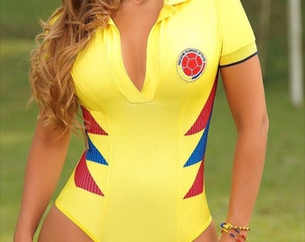 aed4a74ddc75 Seleccion Colombia Bodysuit Bodyshaping