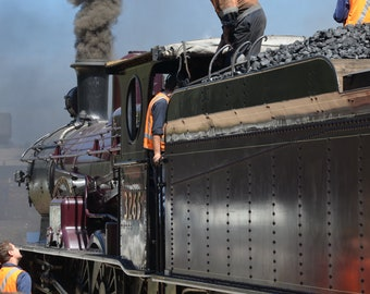 Downloadable Photograph - 3265 Steam Engine at the Thirlmere Festival of Steam