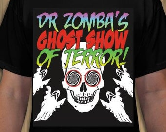 Youth Doctor Zomba's Ghost Show of Terror! T-shirt