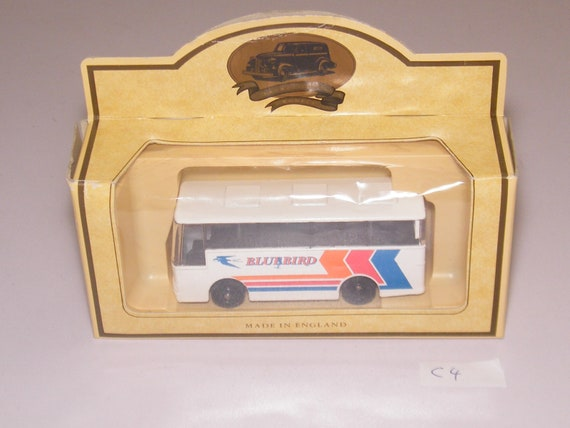 Modèle de jouet de diligence - Bluebird autocar c4 miniature Vintage Lledo jours parti a3