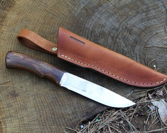 Free Shipping Worldwide Classic bushcraft knife bushcrafting knives bushcraft knife classic knife with leather sheath bushcraft knife leathe