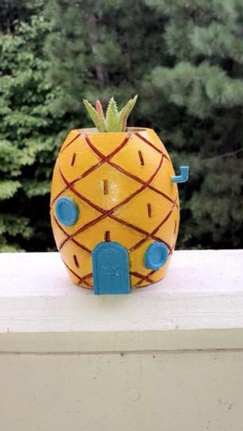 Cartoon Themed Pineapple Planter