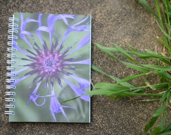 A6 notebook printed on recycled paper