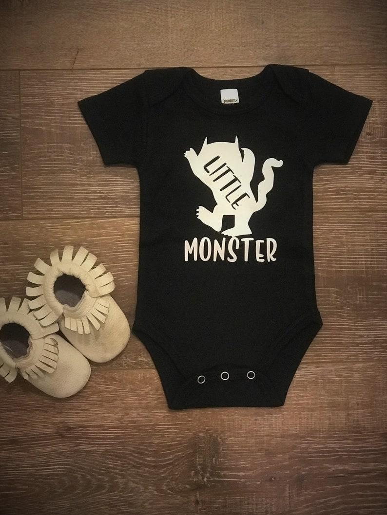 da2b5af81 Little Monster Onesie