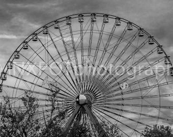 Texas State Fair Fine Art Photograph (The Texas Star - Farris Wheel)