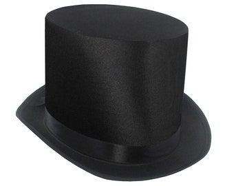 SteamPunk and Cosplay Victorian Black Bell Topper Hat Costume Style NEW UNWORN