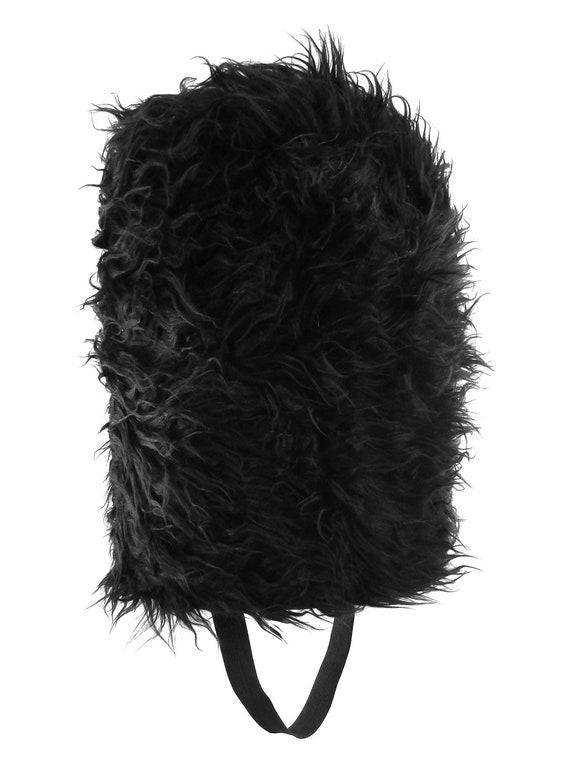 Adult Queens Black Royal Guard Soldier Bearskin Beefeater Fancy Dress Costume Ha
