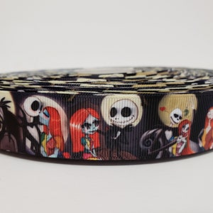 Sally Needle /& Thread Grosgrain Ribbon 1 Nightmare Before Christmas Character