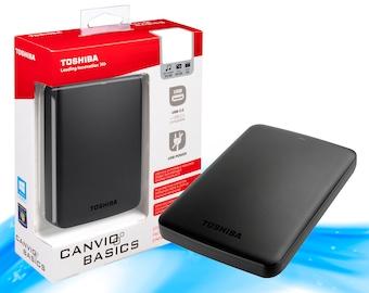 Toshiba Canvio Basics 1TB Portable External Hard Drive