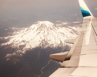 Mount Rainier || Airplane || Flying || McKee Photography