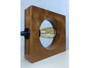 Wooden Table Lamp (The Oji Collection)