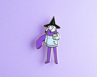 WINTER WITCH - Hard enamel - Winter- Witch - Magic
