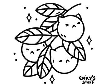 TATTOO FLASH - Cats & Plants